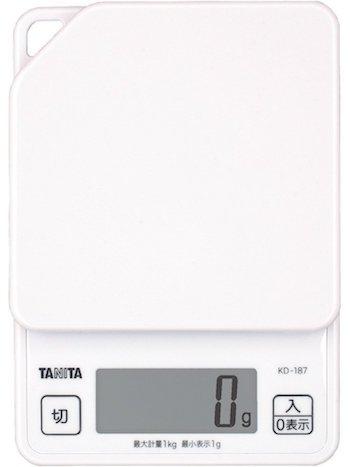 タニタ(TANITA)デジタルクッキングスケール